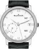 Blancpain Villeret Quantieme Annuel GMT Steel 6670-1127-55B