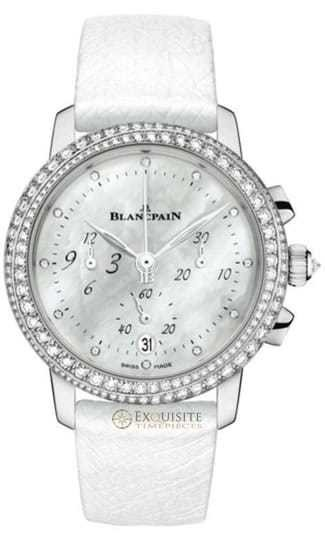 Blancpain Women Flyback Chronograph 3185F-3554-58B