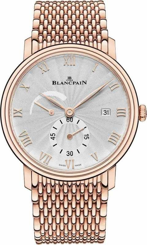 Blancpain Villeret Ultra-slim Red Gold 6606A-3642-MMB