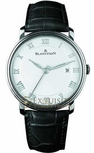 Blancpain Villeret Ultra Slim Seconds and Date In Stainless Steel 6651-1127-55B