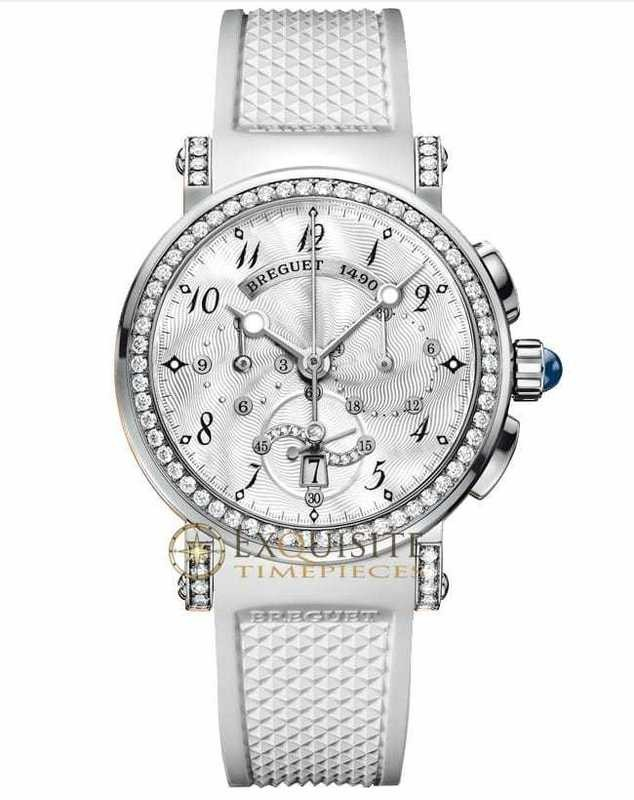 Breguet Marine Lady Chronograph 18kt White Gold 8828BB/5D/586/DD00