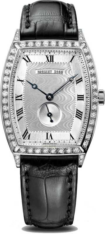 Breguet Heritage Wristwatch in 18-carat White Gold 3661BB/12/984/DD00