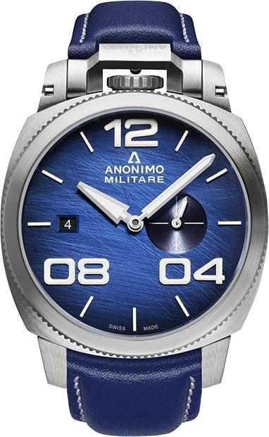 Anonimo Militare Automatic Steel Blue Dial