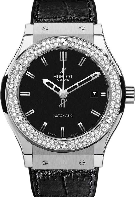 Hublot Classic Fusion Titanium Diamonds 42mm 542.NX.1170.LR.1104