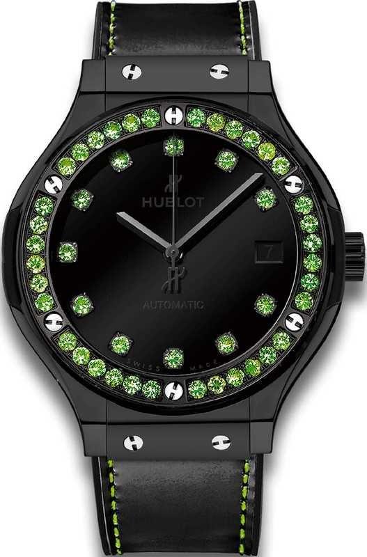 Hublot Classic Fusion Shiny Ceramic Green 565.CX.1210.VR.1222