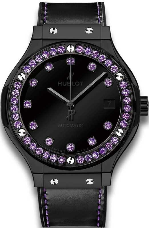 Hublot Classic Fusion Shiny Ceramic Purple 565.CX.1210.VR.1205