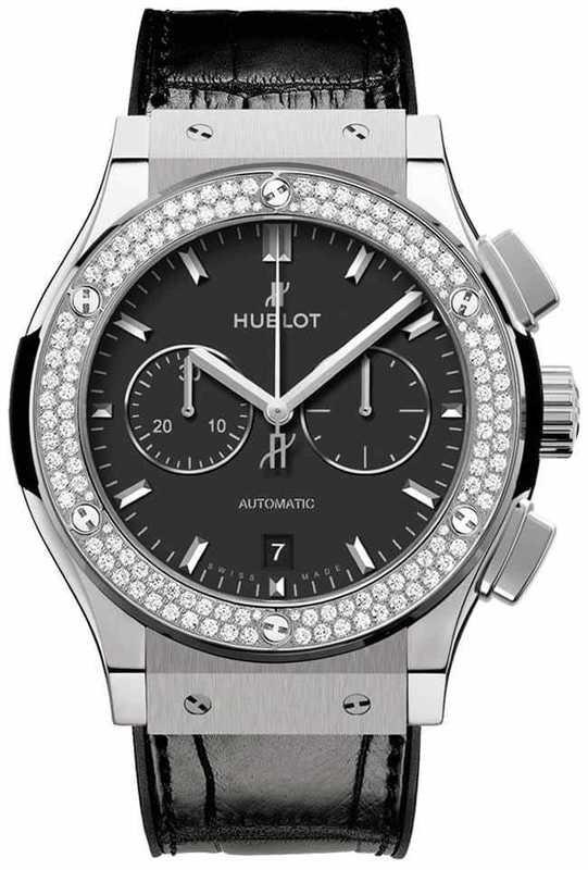 Hublot Classic Fusion Chronograph Diamonds Bezel 541.NX.1171.LR.1104