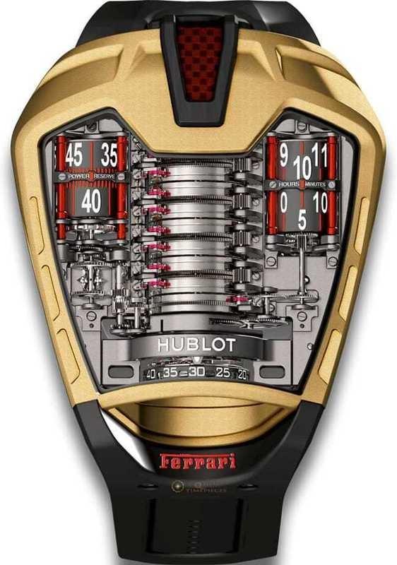 Hublot MP 05 Laferrari Gold 905.VX.0001.RX