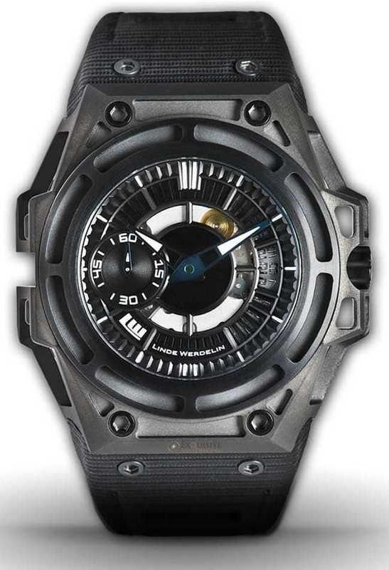Linde Werdelin SpidoLite II Titanium Black DLC