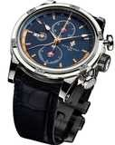 Louis Moinet Geograph Steel Midnight Dial LM-24.10.25