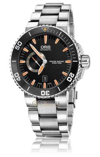 Oris Aquis Small Second Date 01-743-7673-4159-07-8-26-01peb