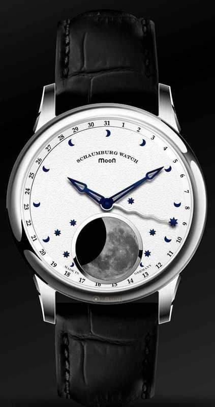 Schaumburg Watch Moon Perpetual One