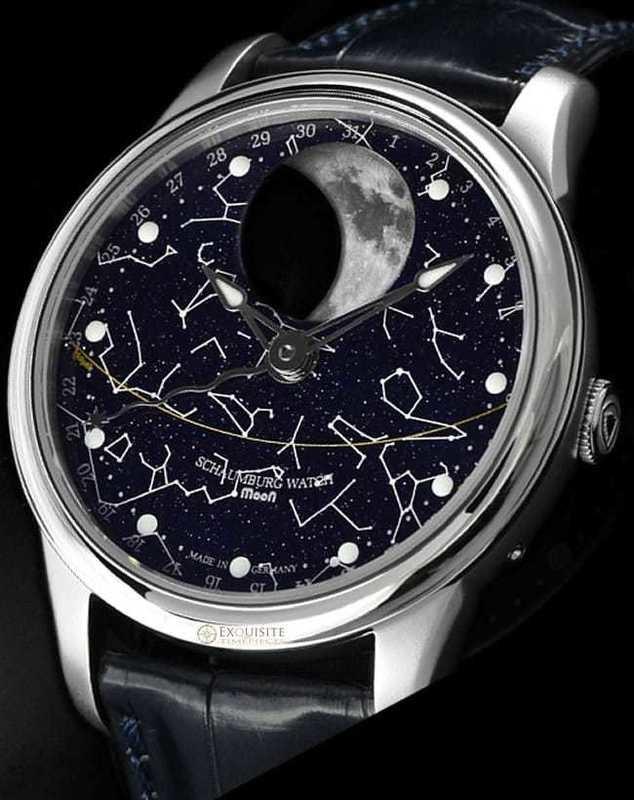 Schaumburg Watch Moon Perpetual Zodiac