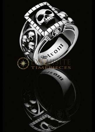 Strom Agonium Ring 'Chevaliere'