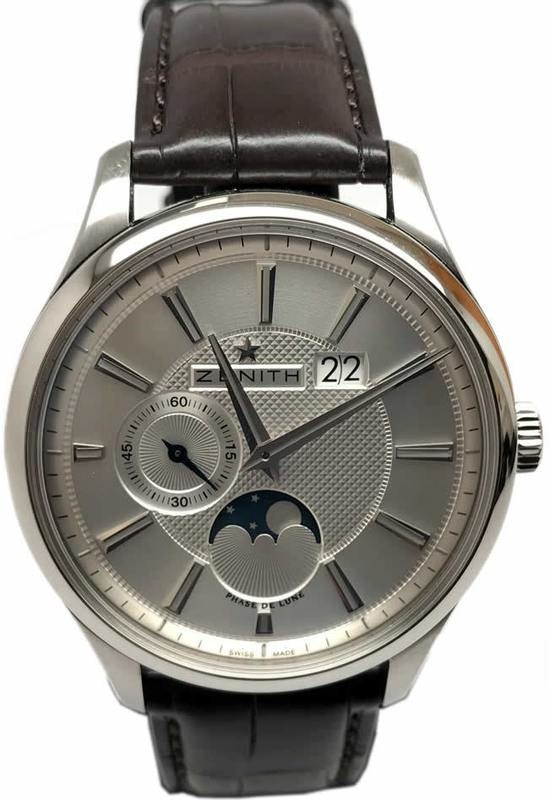 Image result for images of zenith captain moonphase watch