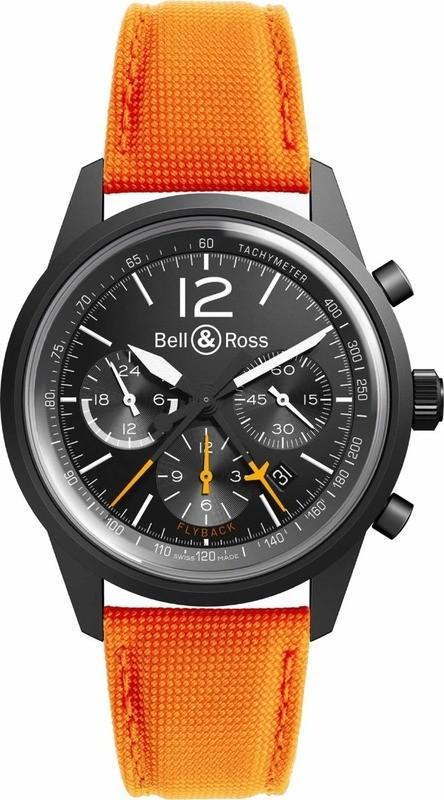 Bell & Ross Vintage BR-126 Flyback Black Bird