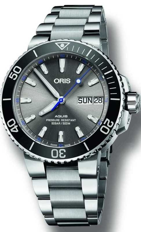 Oris Aquis Hammerhead Limited Edition on Bracelet