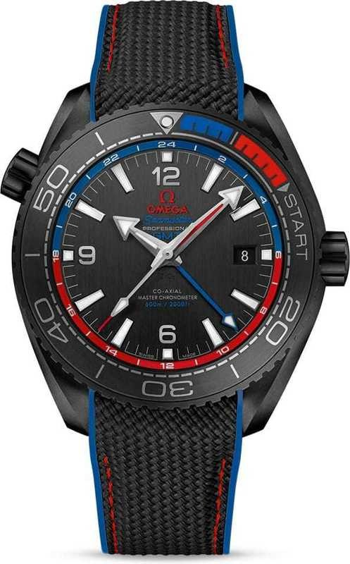Omega Seamaster Planet Ocean 600M Master Chronometer ETNZ Deep Black