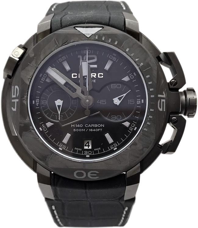 Clerc Hydroscaph H140 Carbon Chronograph H140-12