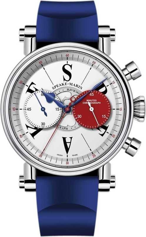 Speake Marin London Chronograph Red Edition