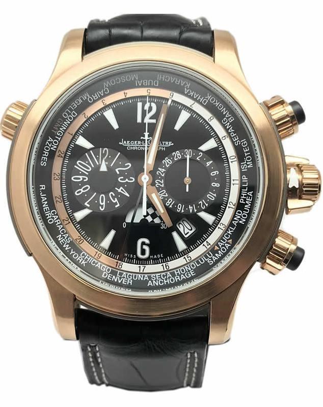 Jaeger LeCoultre Master Compressor Extreme World Chronograph Valentino Rossi Q176247V