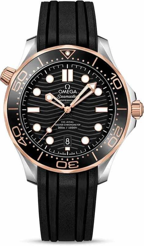 Omega Seamaster Diver 300M Co-Axial Master Chronometer Sedna Gold