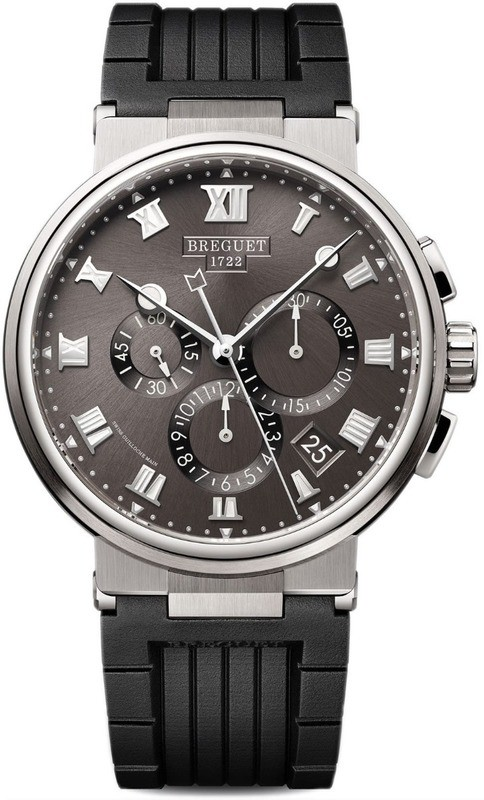 Breguet Marine Chronographe 5527TI/G2/5WV