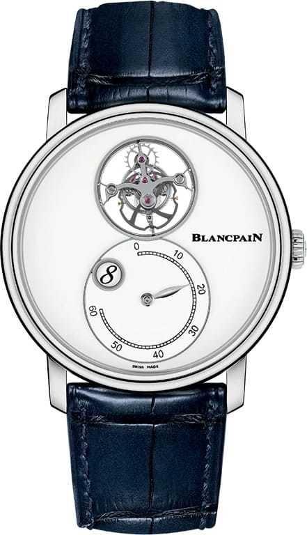 Blancpain Villeret Tourbilllon Volant Heure Sautante Minute Retrograde