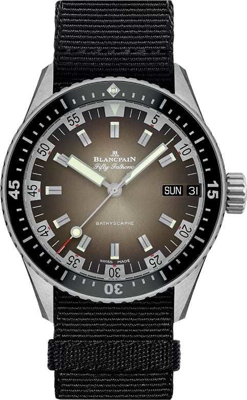 Blancpain Fifty Fathoms Bathyscaphe Day Date 70s 5052-1110-NABA