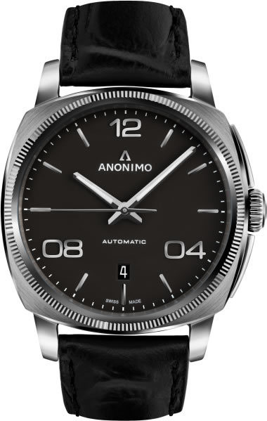 Anonimo Epurato Automatic Stainless Steel Case Anthracite Mat Opalin Dial