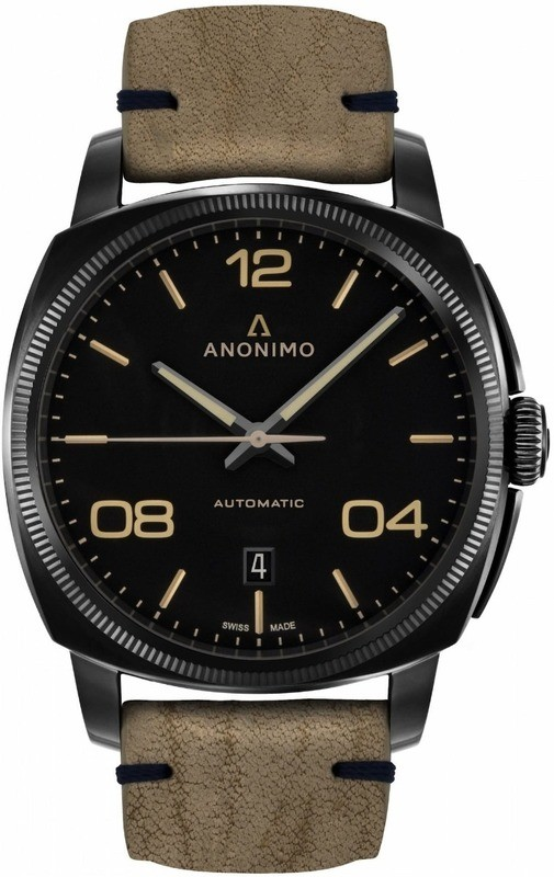 Anonimo Epurato Automatic Stainless Steel DLC Black Dial