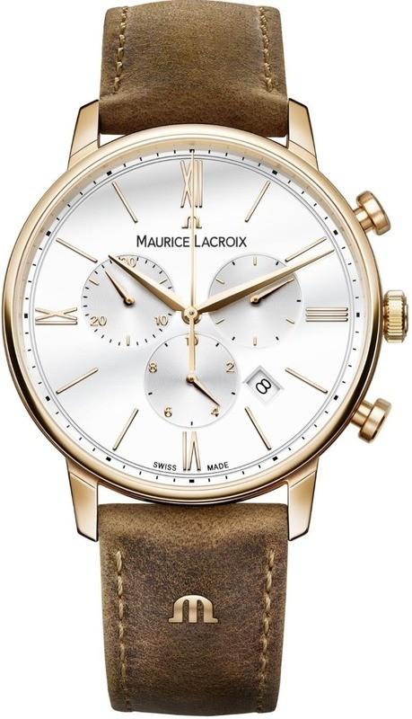 Maurice Lacroix Eliros Chronograph Silver Dial