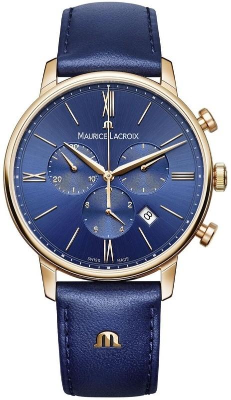 Maurice Lacroix Eliros Chronograph Blue Dial