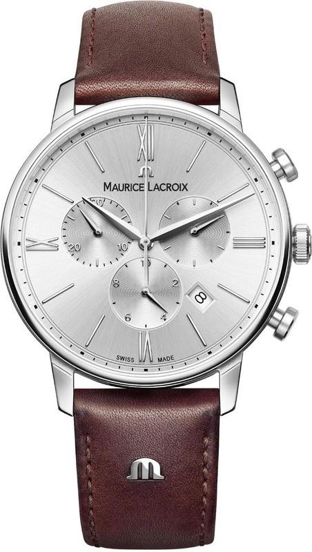 Maurice Lacroix Eliros Chronograph Silver Dial EL1098-SS001-110-1