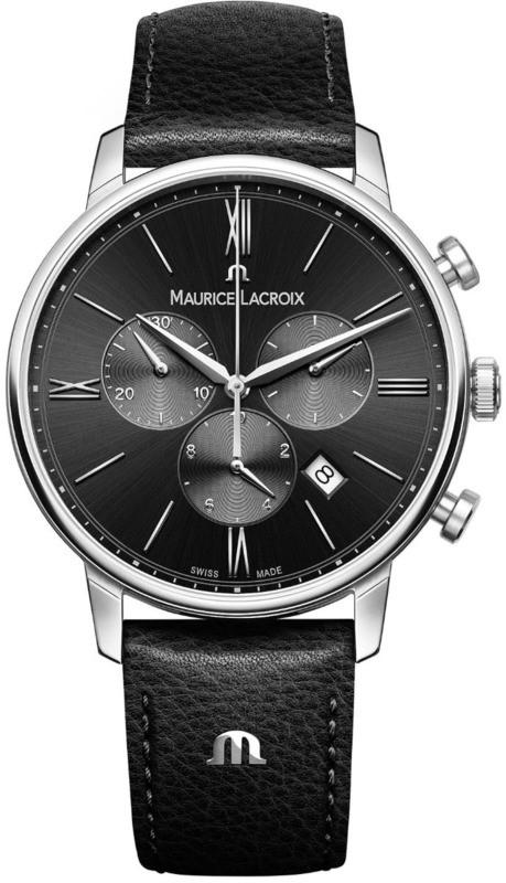 Maurice Lacroix Eliros Chronograph Black Dial EL1098-SS001-310-1