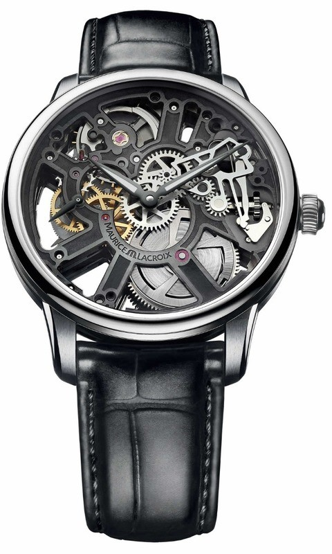 Maurice Lacroix Masterpiece Skeleton