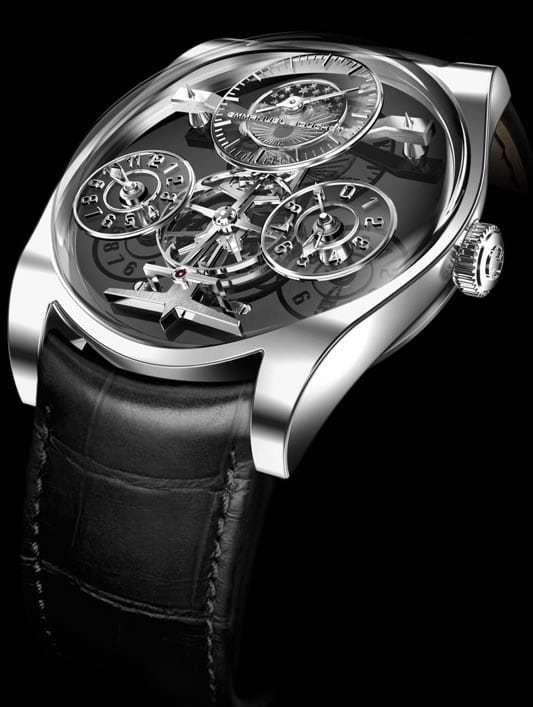 Emmanuel Bouchet Complication One Platinum