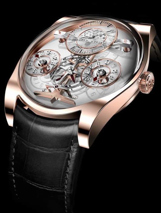 Emmanuel Bouchet Complication One 18k Rose Gold White Dial