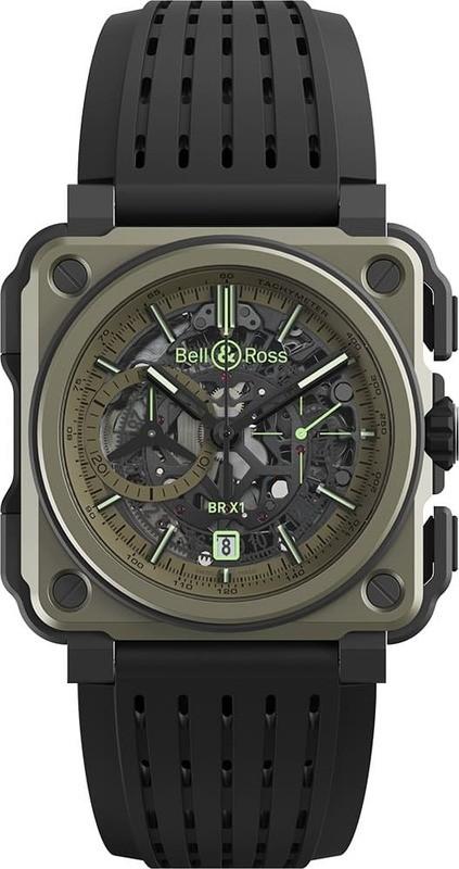 a0b4ddb1b7f2 Bell & Ross BR-X1 Military BRX1-CE-TI-MIL - Exquisite Timepieces