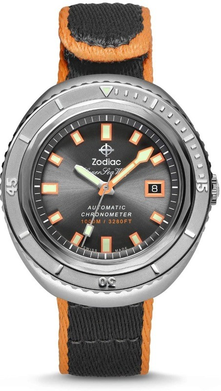 Zodiac Super Sea Wolf 68 Limited Edition 50th Anniversary Watch Set