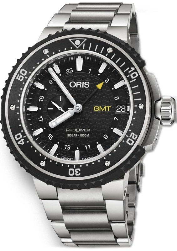 Oris Prodiver GMT on Bracelet
