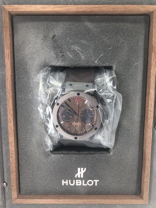 Hublot Classic Fusion Forbidden X Titanium Brown Ceramic 521.CC.0589.VR.OPX14