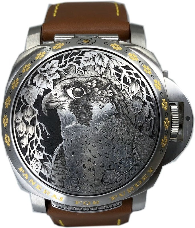 Panerai Luminor Sealand for Purdey