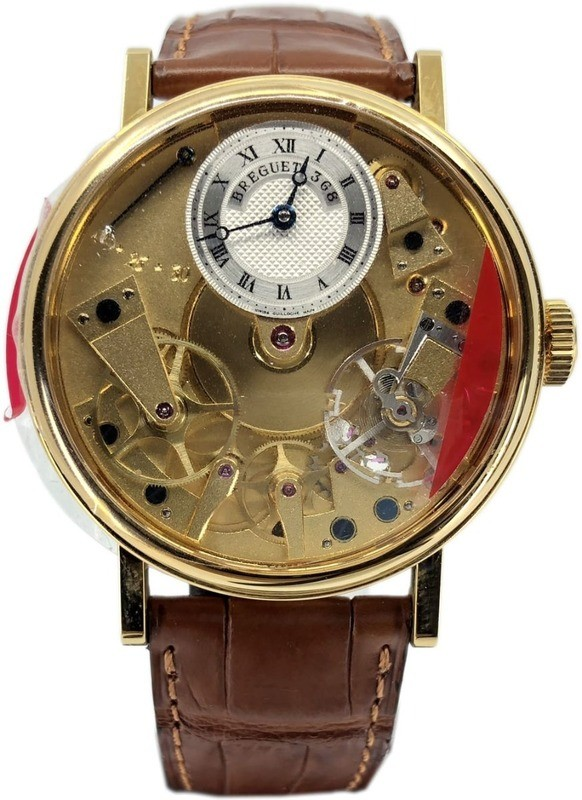 Breguet Tradition Manual Wind Yellow Gold 7027BA/11/9V6