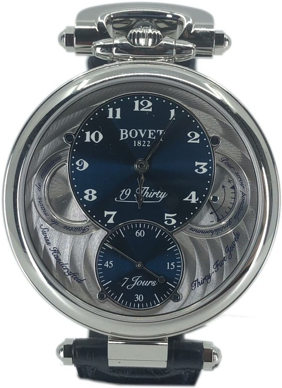 Bovet 19Thirty Fleurier 7-Day Power Reserve NTS0001