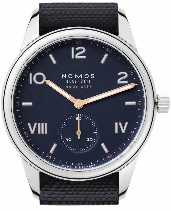 NOMOS Glashütte Campus Neomatik 39 Midnight Blue