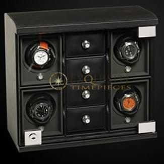 Underwood Watch Winder four module with comparment trays