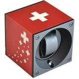 Swiss Kubik Master Box Aluminium Red Swiss Flag