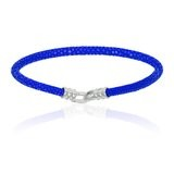 Double Bone Single Stingray Blue Bracelet Unisex