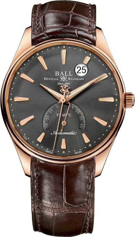 Ball Watch Trainmaster Kelvin NT3888D-PG-LLJ-GYC